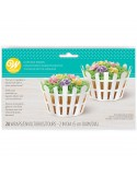 SET 24 WRAPPERS RECINTO PER CUPCAKE WILTON
