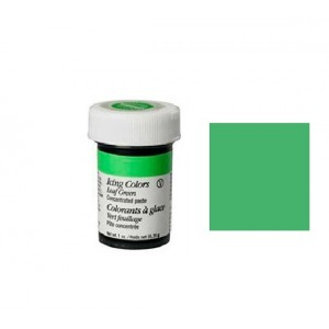 COLORANTE VERDE FOGLIA 28GR WILTON LEAF GREEN