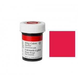 COLORANTE ROSSO INTENSO 28GR WILTON RED RED