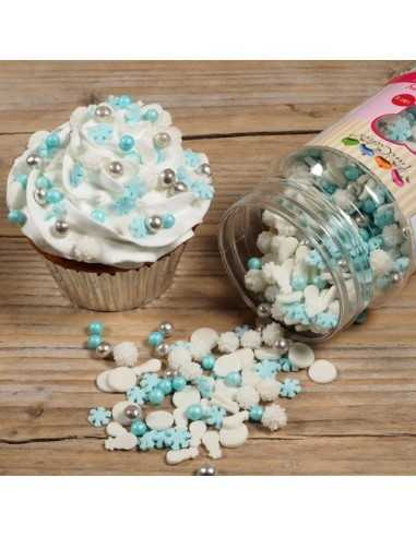 DECORAZIONI MIX FROZEN (180G) FUNCAKES