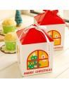 GIFT BOX CASETTA MERRY CHRISTMAS PORTA CIOCCOLATINI DOLCETTI