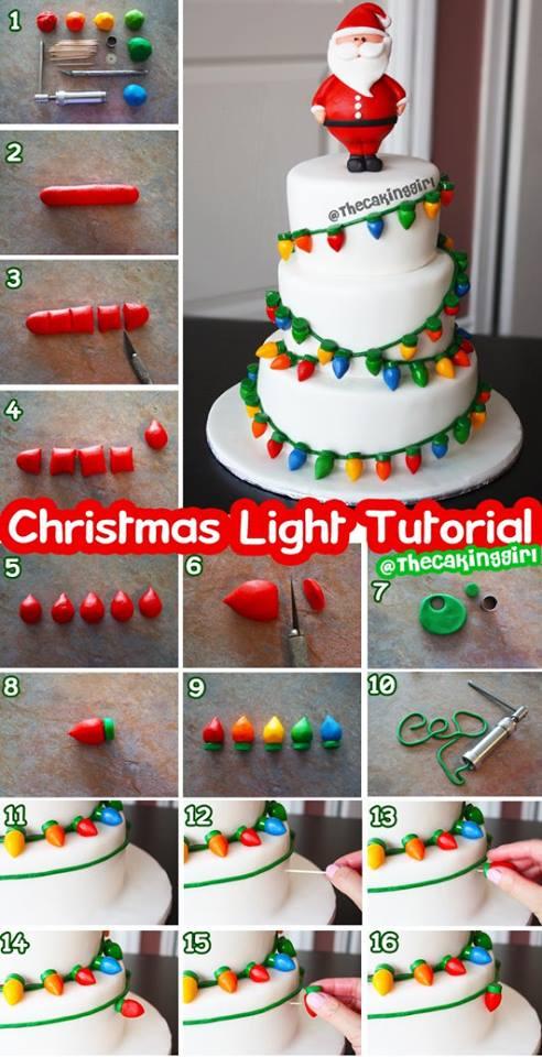 tutorial torta lucine